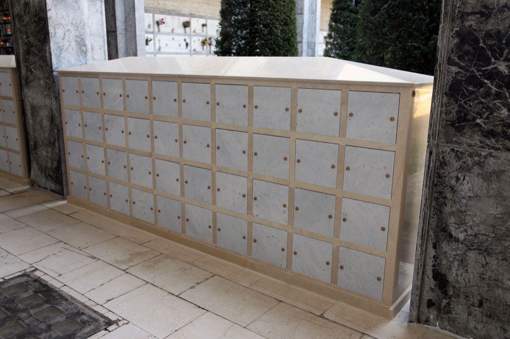 Edilizia cimiteriale roncato marmi for Arredi cimiteriali